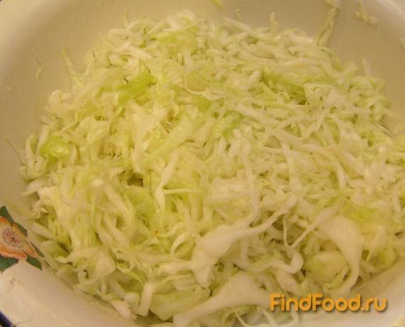 рецепт быстрого приготовления салата из свежей капусты