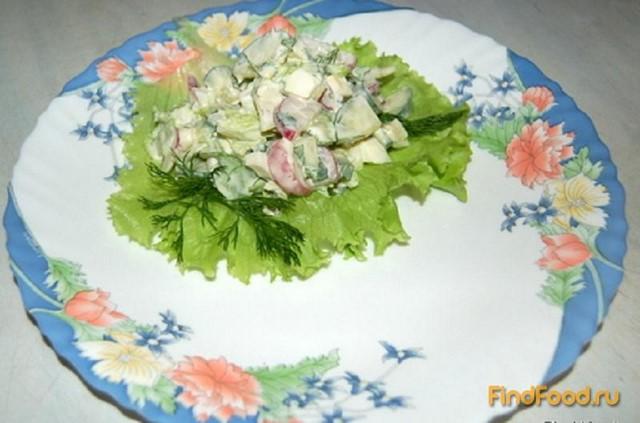 салат свежесть рецепт с фото