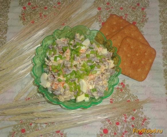 Рецепты салатов пошагово из курицы