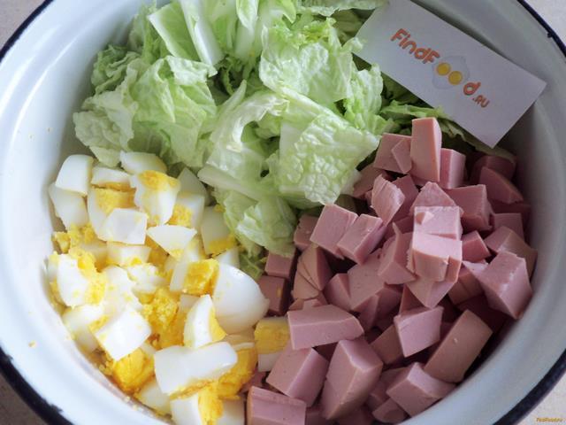 рецепты салат с пекинской капустой