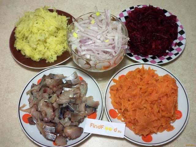скумбрия под шубой рецепт с фото салаты
