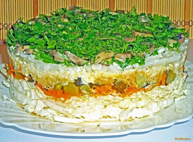 Овощной торт фото-рецепты