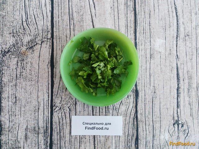 Теплый постный салат с фасолью рецепт с фото 6-го шага