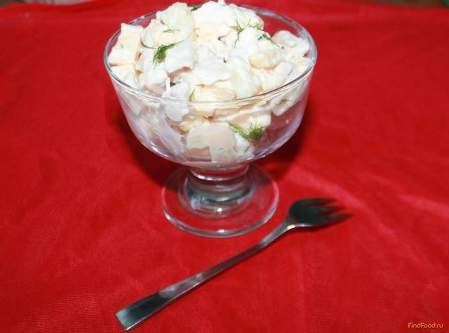 салат сельдерей с курицей и ананасом рецепт