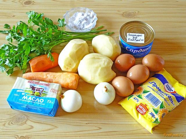 Салат «Мимоза» с сыром и сливочным маслом рецепт с фото 82