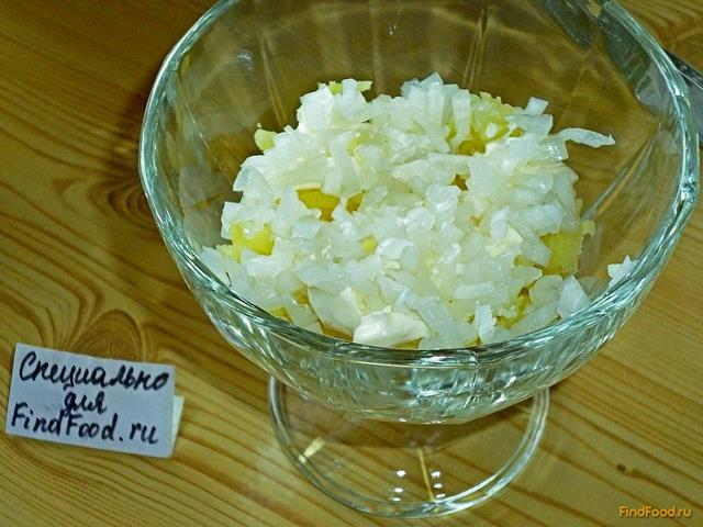 Мимоза рецепт с маслом классический