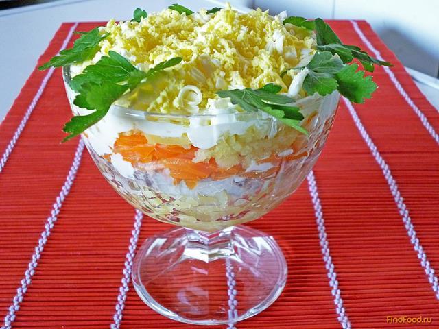 Салат мимоза рецепт с с маслом