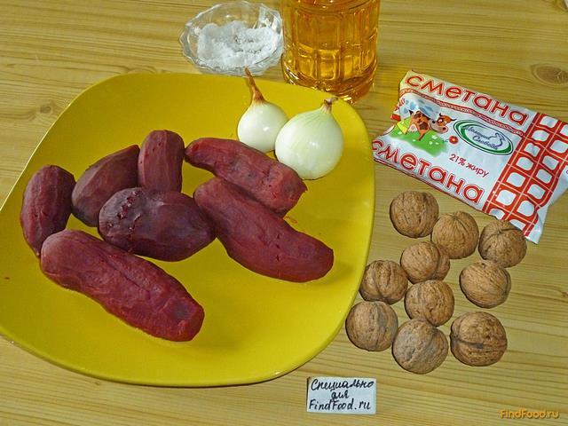 рецепт салата из свеклы с перцем