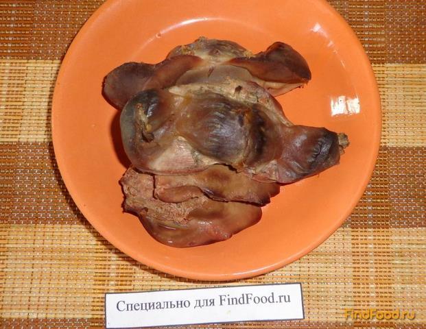 салат хе с куриными желудками рецепт