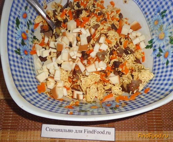 Как сделать салат с желудками