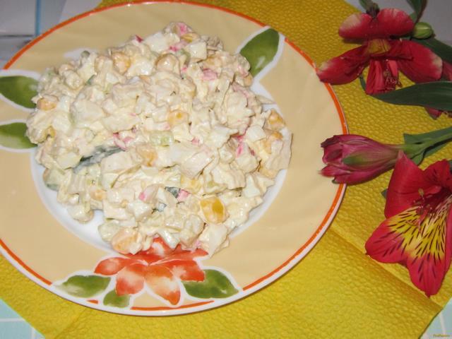 Салаты с капустой рецепт пошаговый
