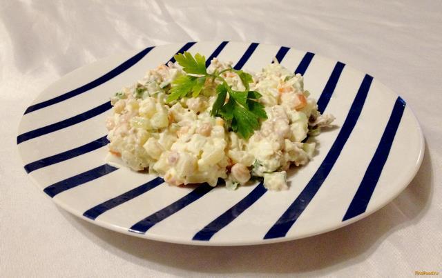 рецепт салат с говядиной и фасолью рецепт с фото