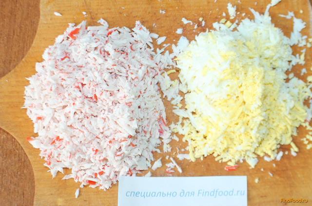 рецепт салата фламинго с креветками