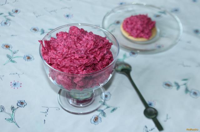 салат розовый фламинго рецепт