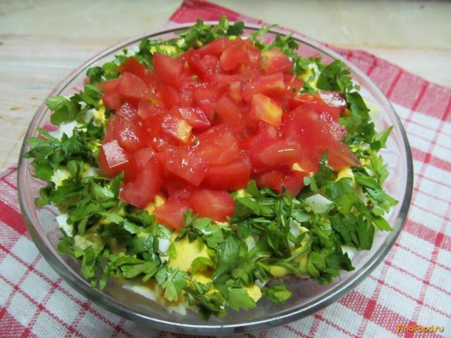 рецепты салата из сердца с фото