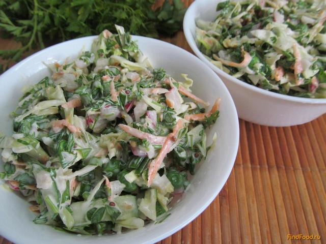 Салат с капустой в домашних условиях рецепт с