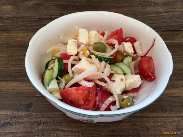 греческий салат с уксусом рецепт