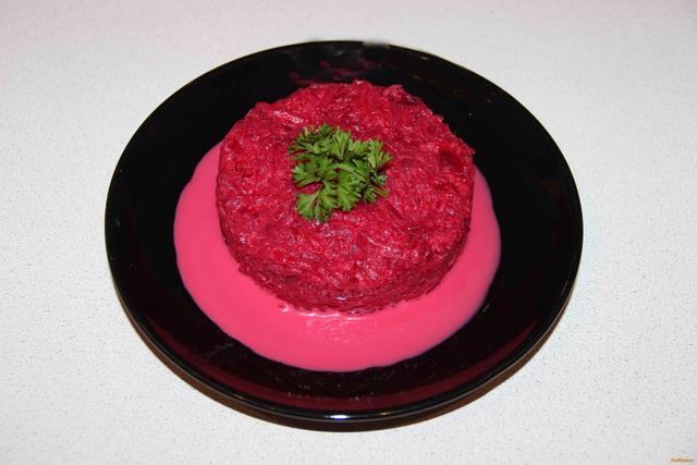 Салат из свеклы рецепт с фото 7-го шага
