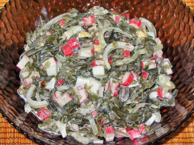 салат с морской капустой с фото