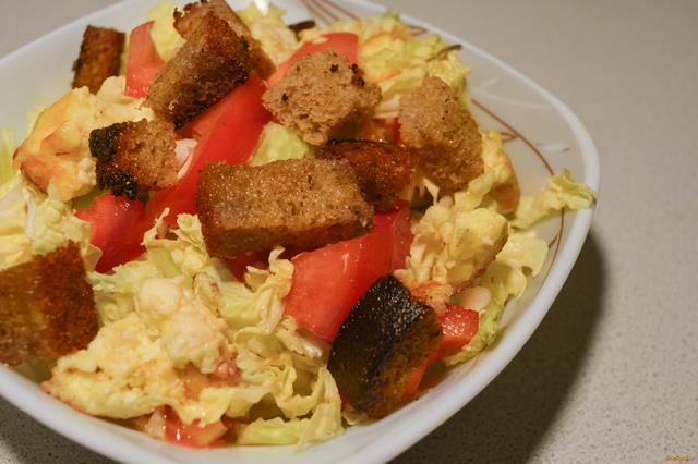 салат с пекинской капустой и майонезом рецепт