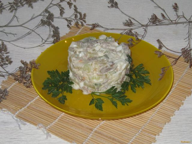 салат со говядины рецепт с фото
