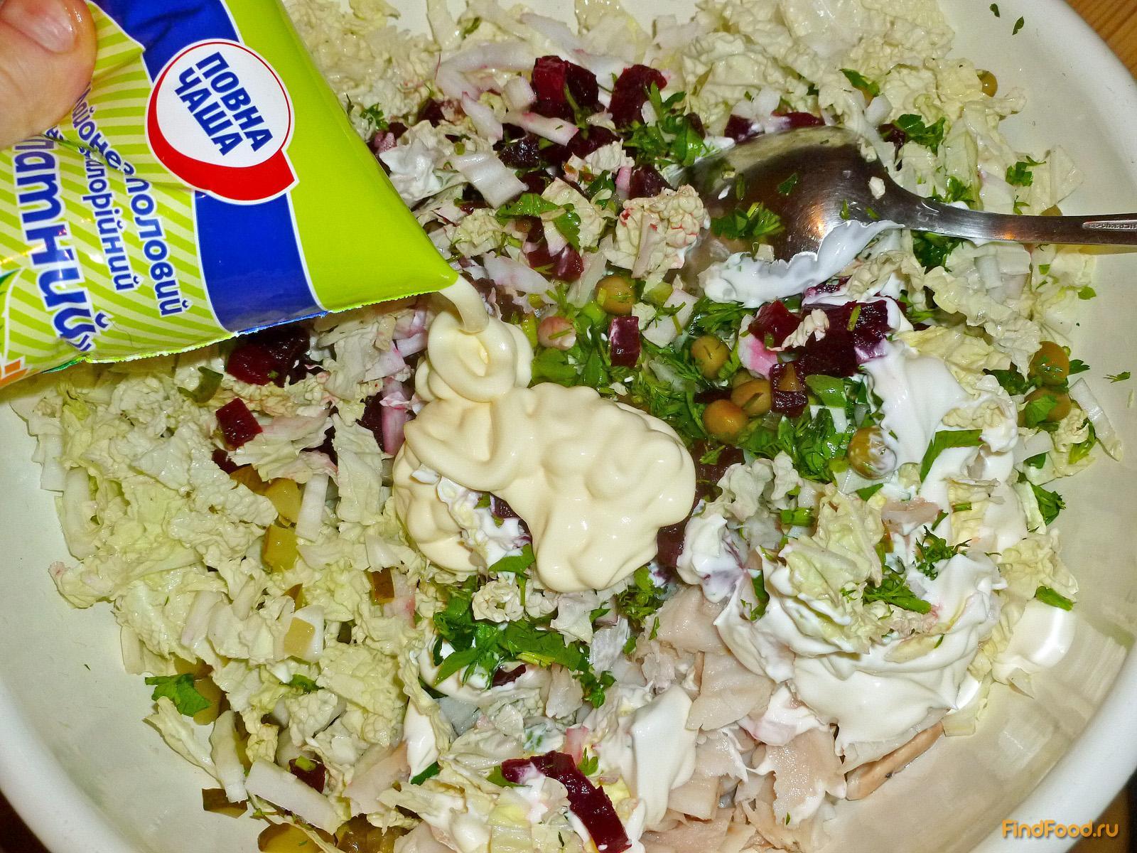 Рецепты салатов фото с пошаговым приготовлением