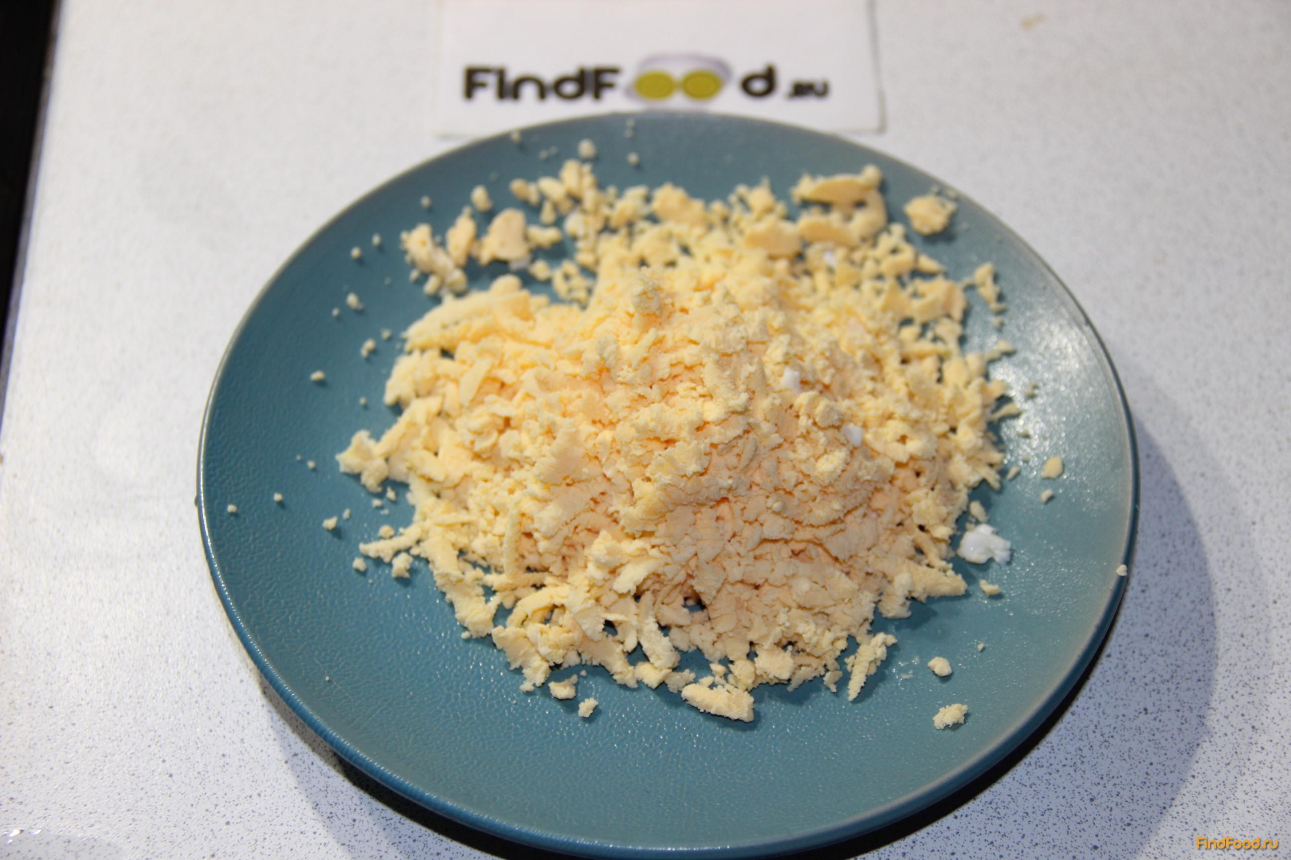 Мимоза с рисом пошаговый рецепт