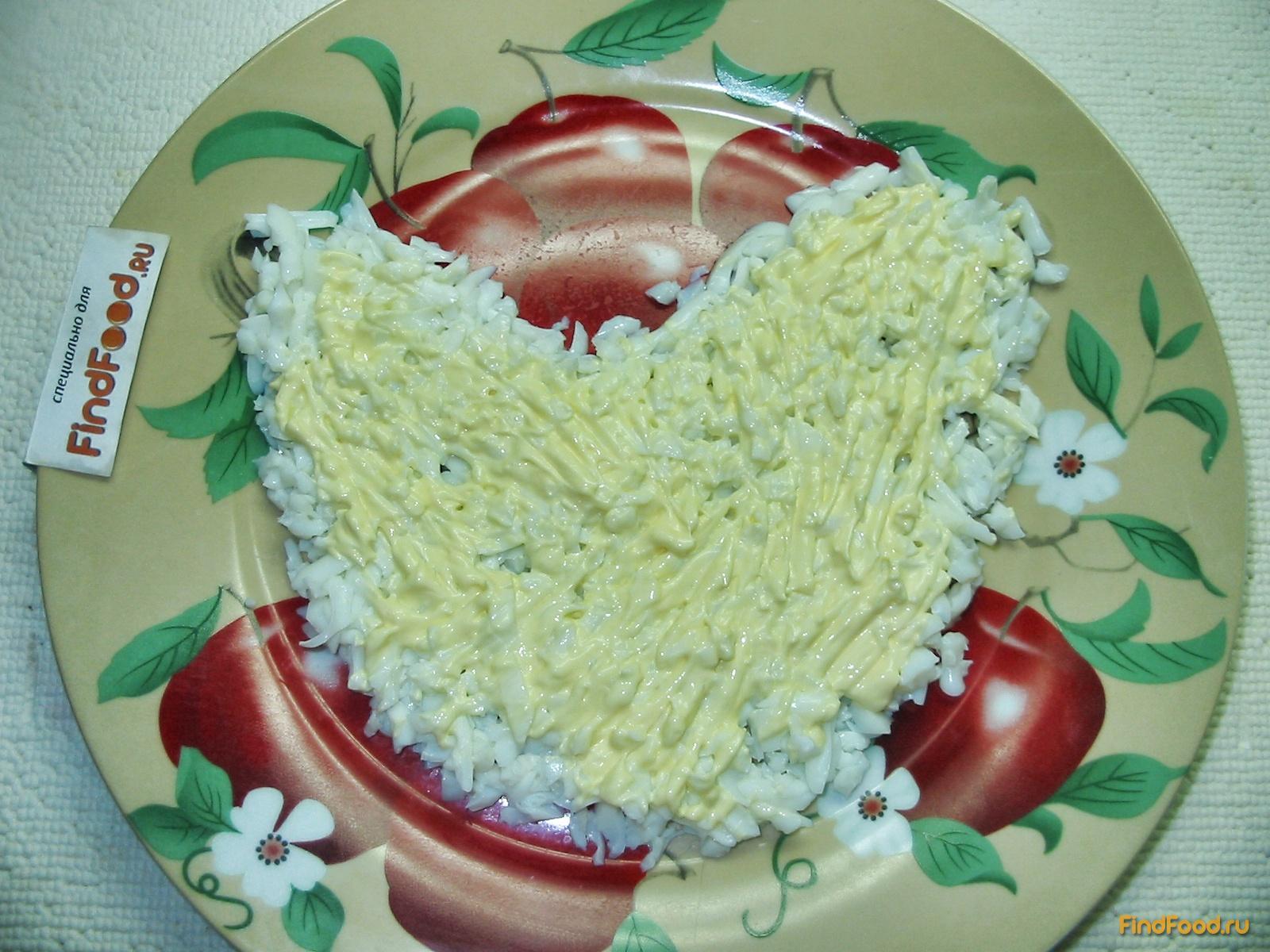 Инь янь салат рецепт пошагово