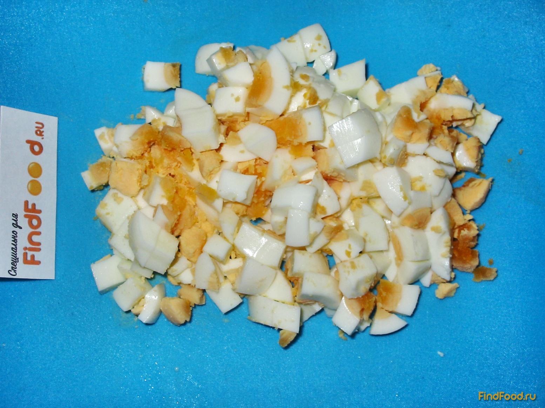 рецепт крабового салата с шампиньонами