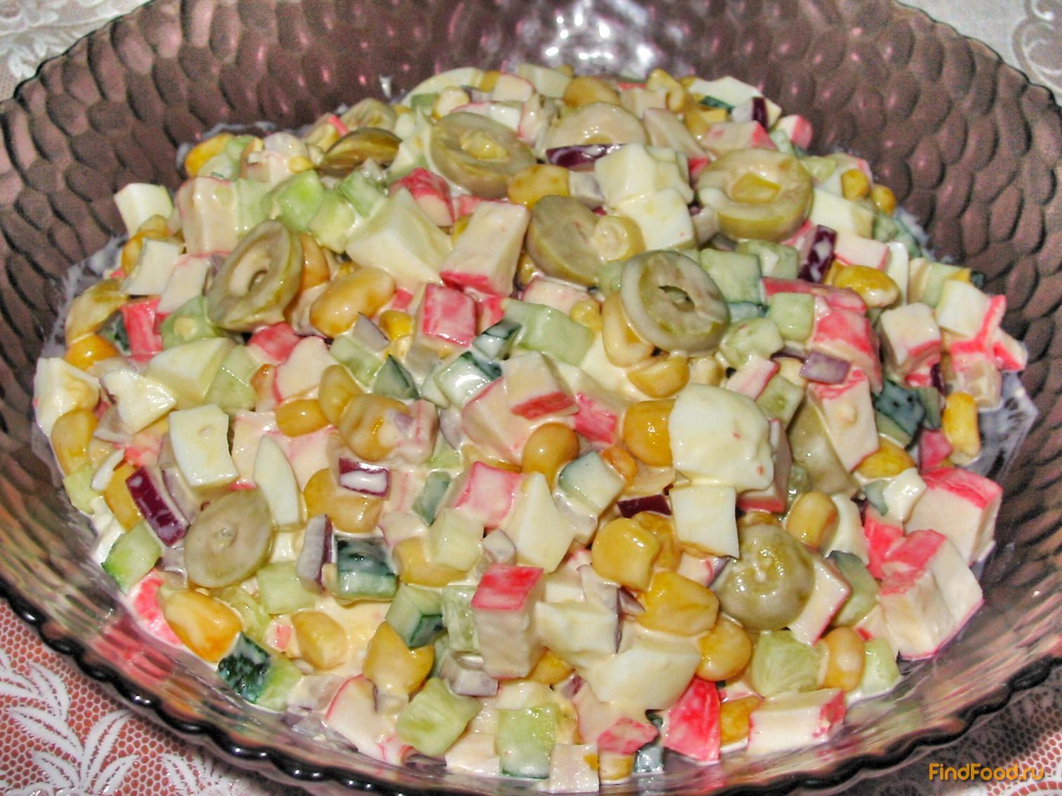 Салат из оливок рецепт