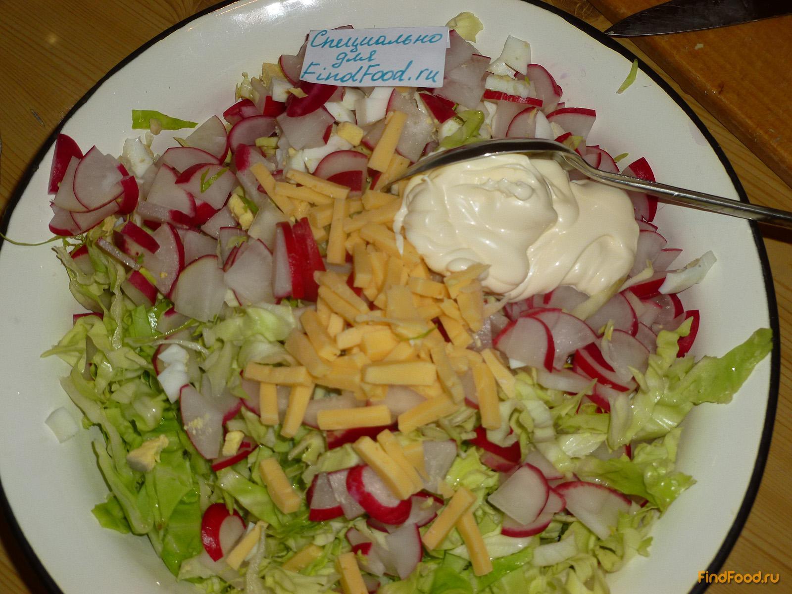 салат из капусты свежей с яйцом