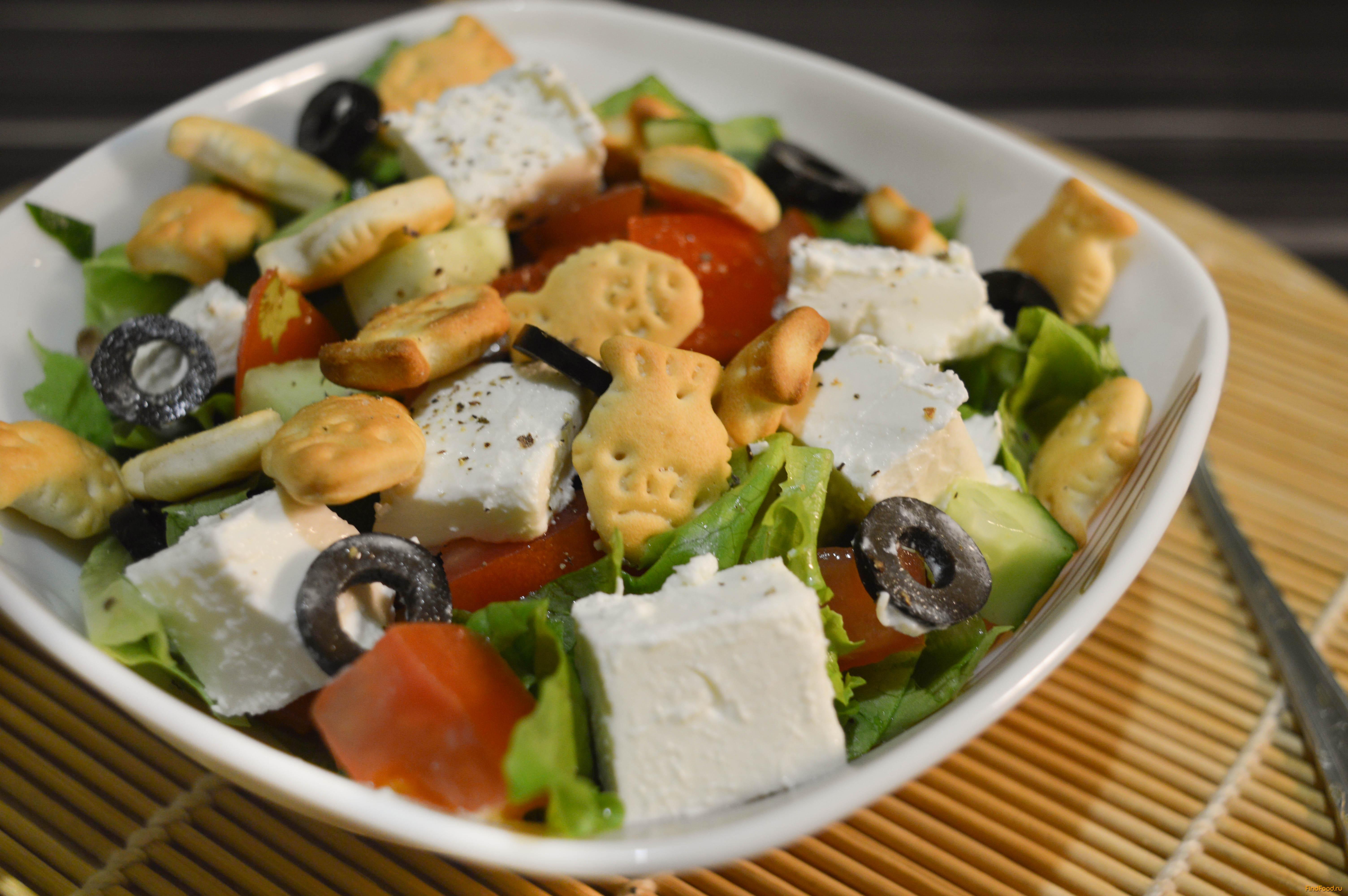 Приготовить греческий салат классический рецепт пошагово