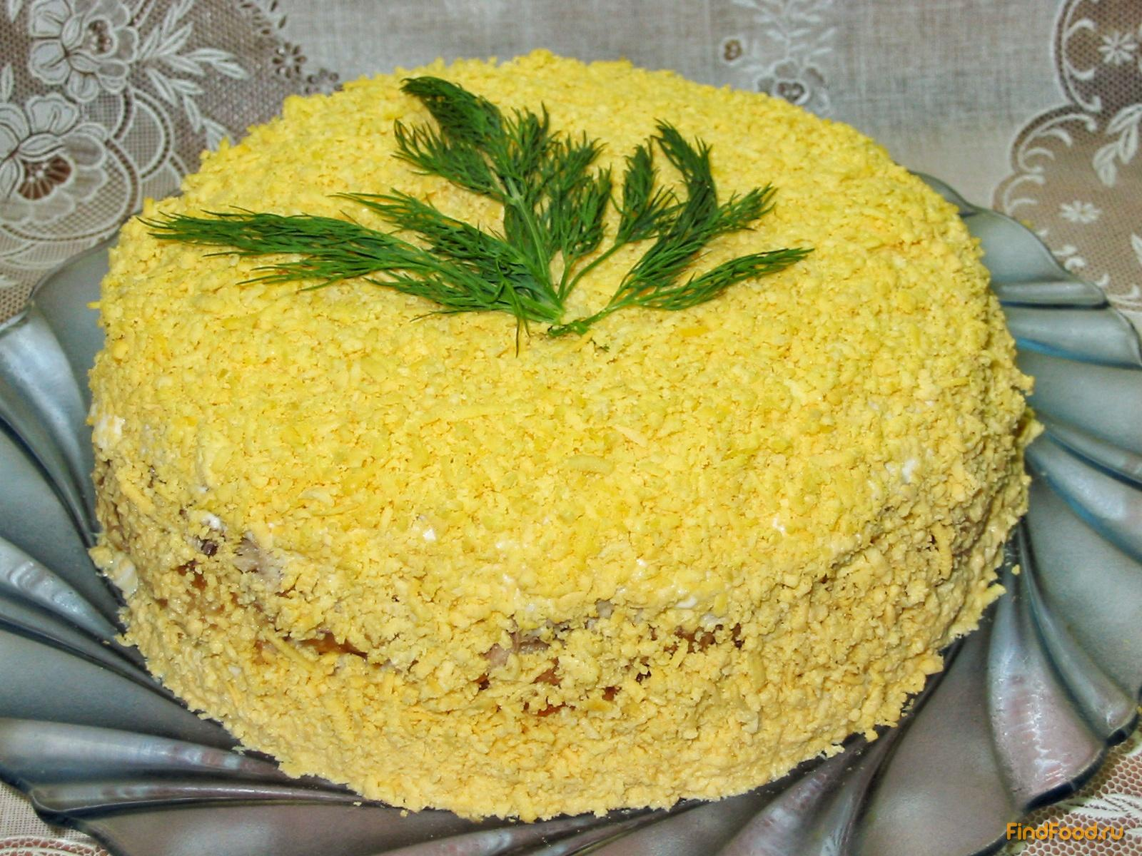 Салат мимоза рецепт с яблоком рецепт