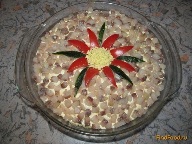 Салат с селёдкой рецепт с фото пошагово