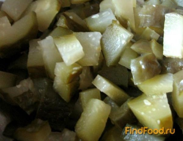 рецепт салата из фасоли и копченого мяса