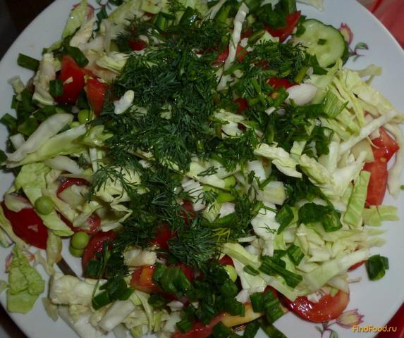 салат с зеленым горошком рецепт с фото очень