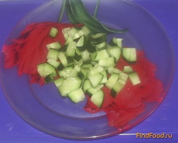салат с имбирным соусом рецепт