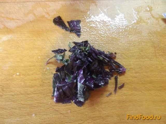 Овощной салат с кинзой рецепт с фото 5-го шага