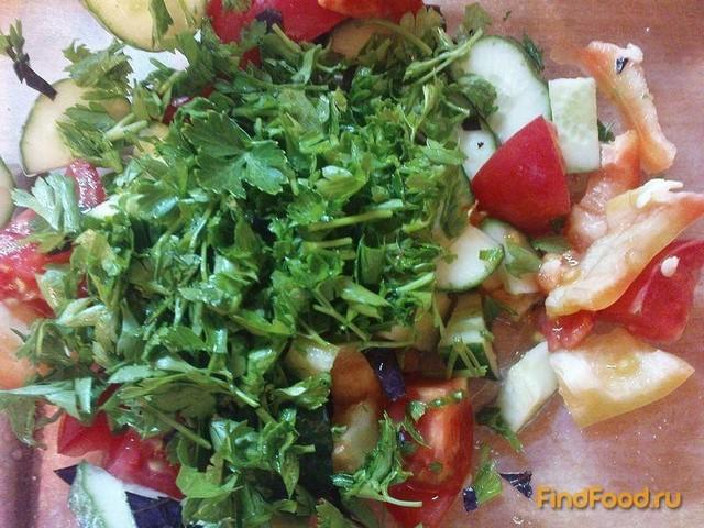 Овощные салаты с чесноком