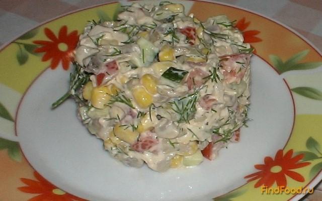 Салат для гостей рецепт