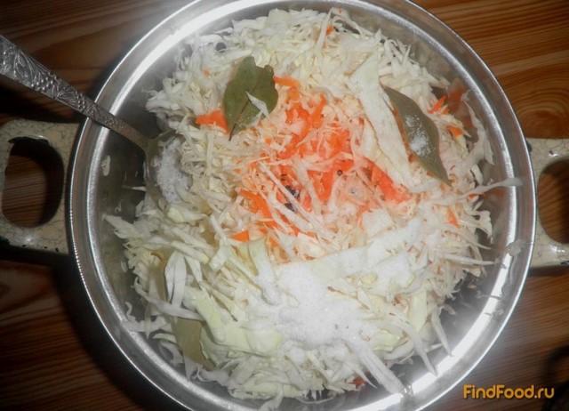 рецепт белокочанной капусты в свекольном рассоле