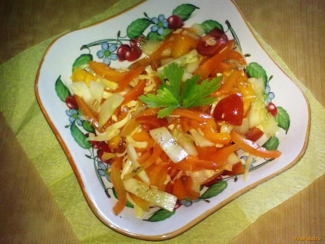 салат семга китайский рецепт с фото