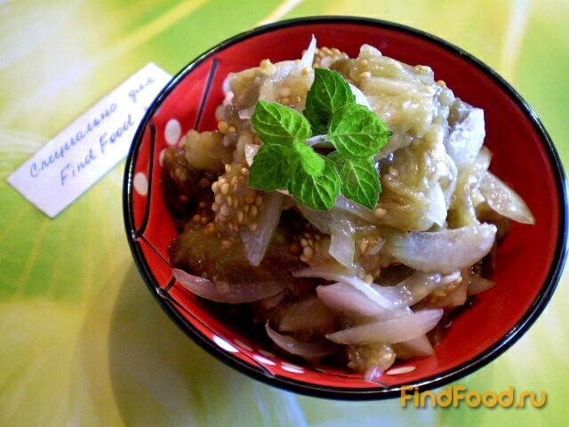баклажановый салат как приготовить