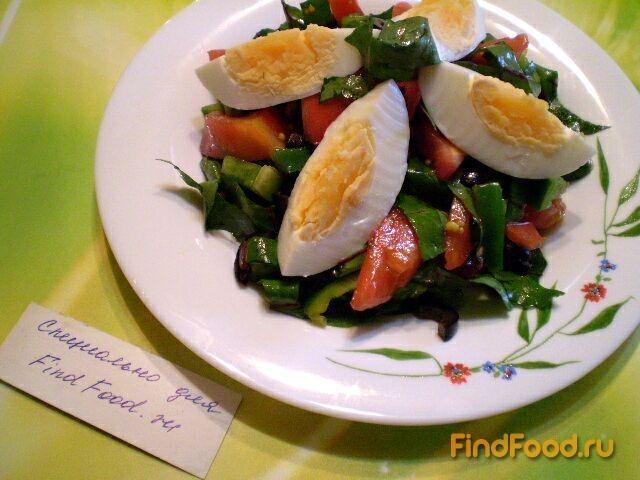 Овощные салаты с горчицей