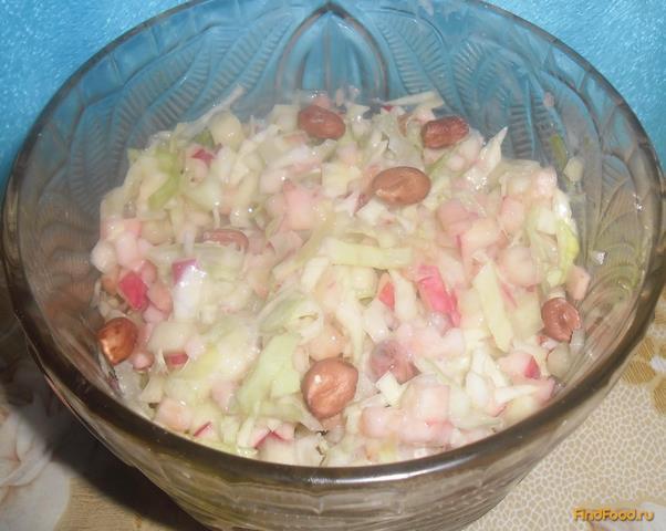 Овощной салат с йогуртом с