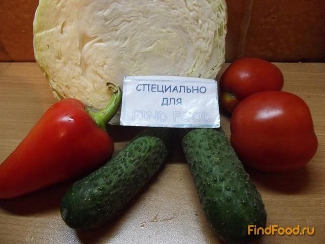 рецепт капустного салата с болгарским