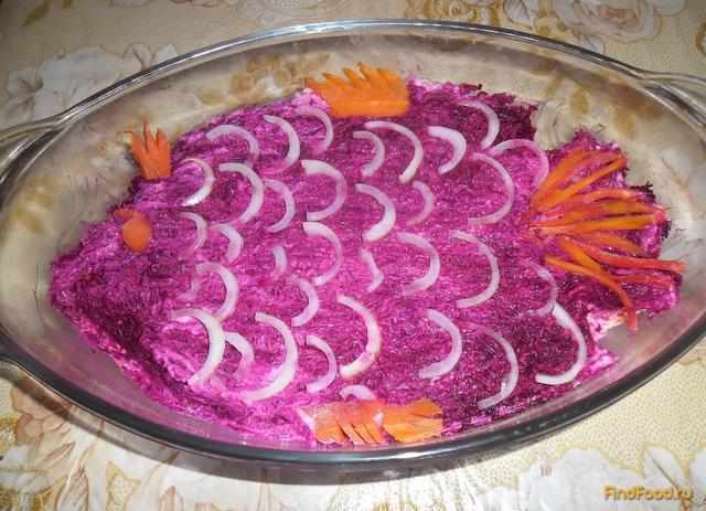 Сельдь под шубой рецепт с пошаговым