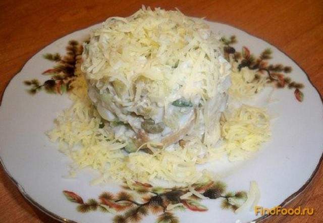 салат из курицы с мандаринами рецепт с фото