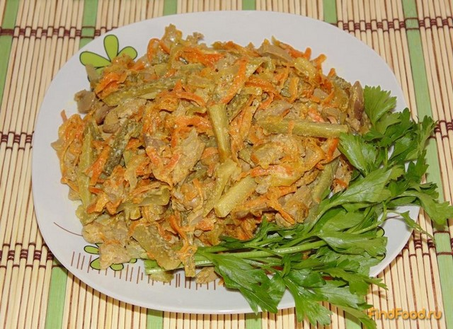 салат тюльпан рецепт с фото