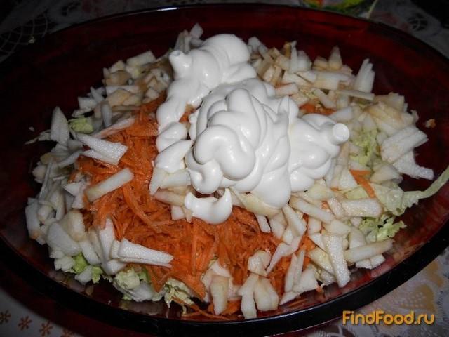 вкусные салаты из китайской капусты рецепты с фото